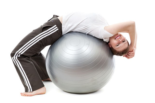 Abdominal Exercises with Ball