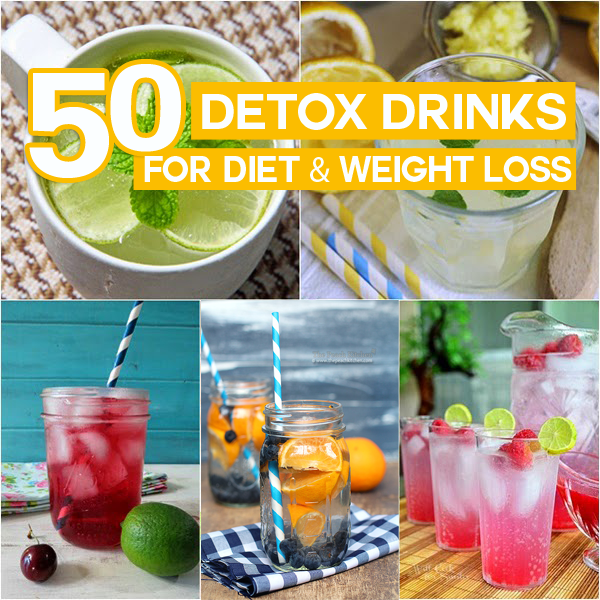 50-detox-drinks-for-diet-and-weight-loss